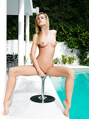 Marketa in Diafano by Erro - Erotic and nude pussy pics at GirlSoftcore.com