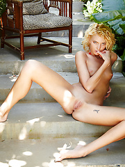 Lilly in Verdure by Erro - Erotic and nude pussy pics at GirlSoftcore.com