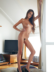 Elance in Sottile by Erro - Erotic and nude pussy pics at GirlSoftcore.com