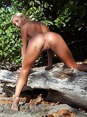 Emma in Shiny by Erro - Erotic and nude pussy pics at GirlSoftcore.com