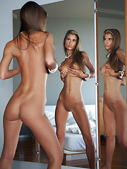 Nessa in Reflected by Erro - Erotic and nude pussy pics at GirlSoftcore.com