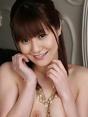 Horny babe Misuzu Imai possing in sexy bikini - Erotic and nude pussy pics at GirlSoftcore.com