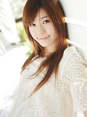 Momoka Minami outdoors