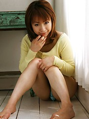 Asian beauty has a lovely body with lovely firm tits - Erotic and nude pussy pics at GirlSoftcore.com