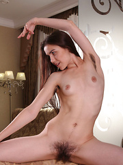 Frankie makes her debut in Metart, showing off her nubile body and hairy asset - Erotic and nude pussy pics at GirlSoftcore.com