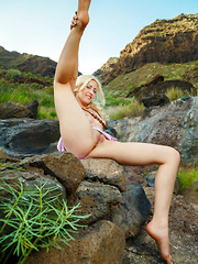 Janelle B flaunts her amazing body outdoors. - Erotic and nude pussy pics at GirlSoftcore.com