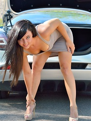 Risky Fashion Shoot - Erotic and nude pussy pics at GirlSoftcore.com