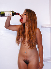 Jasmin Veracruz Drinks Sancho - Erotic and nude pussy pics at GirlSoftcore.com