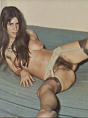 Naked retro hippie ladies showing hot hairy snatch - Erotic and nude pussy pics at GirlSoftcore.com