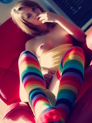 Aspen is Made of Candy - Erotic and nude pussy pics at GirlSoftcore.com