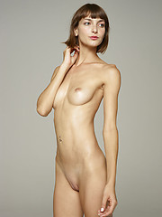 Skinny fashion girl showing her nude body - Erotic and nude pussy pics at GirlSoftcore.com