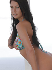 Watch stunning brunette Addison strip for you - Erotic and nude pussy pics at GirlSoftcore.com