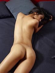 Cute small-titted ethnic girl - Erotic and nude pussy pics at GirlSoftcore.com