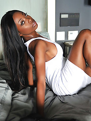 Amazing ebony babe Courtney Foxxx - Erotic and nude pussy pics at GirlSoftcore.com