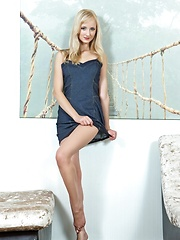 Zemira brightens up the whole room as she plays centerpiece with her sweet, endearing looks and youthful, tender body
