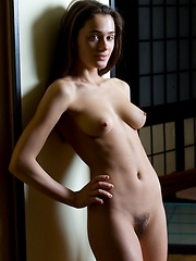 Small build with naturally cute and charming face and perky breasts. - Erotic and nude pussy pics at GirlSoftcore.com