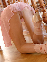 Dariya and Sasha join forces in their own ballerina performance. - Erotic and nude pussy pics at GirlSoftcore.com