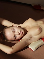Angelic babe with enticingly erotic goods. - Erotic and nude pussy pics at GirlSoftcore.com