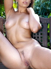 Eve Angel in the garden