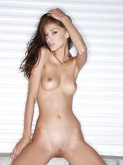 Skinny babe Anna AJ