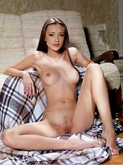 Gorgeous model with delightful fleshy bit and gorgeous figure. - Erotic and nude pussy pics at GirlSoftcore.com