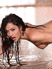 Cassie Laine - gets wet and wild
