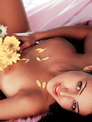 Breanne Benson - shares her soft warm flower with you - Erotic and nude pussy pics at GirlSoftcore.com
