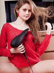 Super cutie in red lace