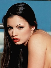Aria Giovanni - shows off her famous curves and beautiful face - Erotic and nude pussy pics at GirlSoftcore.com