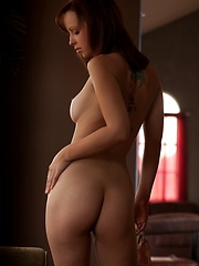 Hayden Winters - glows in the sunlight from a window - Erotic and nude pussy pics at GirlSoftcore.com