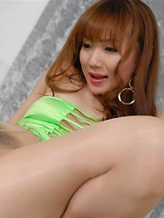 Japanese babe Reona Kanzaki in pantyhose - Erotic and nude pussy pics at GirlSoftcore.com