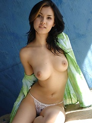 Hot Asian Maria Ozawa shows off her breasts - Erotic and nude pussy pics at GirlSoftcore.com