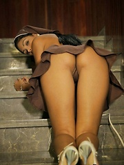 Karla Spice is such a naughty nun - Erotic and nude pussy pics at GirlSoftcore.com