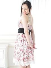 Hot japanese girl Nanami Kinomoto posing - Erotic and nude pussy pics at GirlSoftcore.com