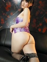 Japanese girl Natsumi shows her ass - Erotic and nude pussy pics at GirlSoftcore.com