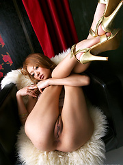 Hot japanese girl Rei - Erotic and nude pussy pics at GirlSoftcore.com