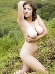 Paloma on the Sunny Hill - Erotic and nude pussy pics at GirlSoftcore.com