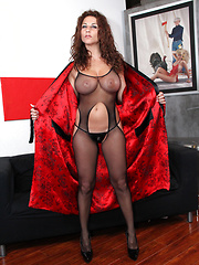 Breanne Benson and redhead Ramona have lesbian sex - Erotic and nude pussy pics at GirlSoftcore.com