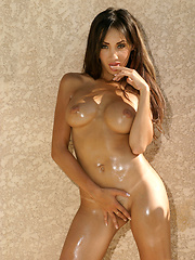 Katsuni poses solo and soaks rays in the nude - Erotic and nude pussy pics at GirlSoftcore.com