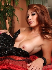 Gorgeous babe, Monique Alexander's body is to die for! Everything about this girl is exquisite - from her classy black dress to her flawless body and pretty face. - Erotic and nude pussy pics at GirlSoftcore.com