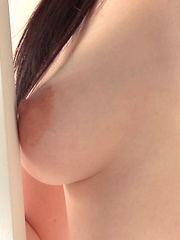Japanese girl's boobs come in all shapes and sizes and everyone on the crew has a favorite type. The shape and movement of Reina's breasts were anime quality! - Erotic and nude pussy pics at GirlSoftcore.com