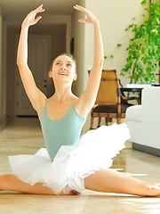 Claire the Professional Ballerina - Erotic and nude pussy pics at GirlSoftcore.com