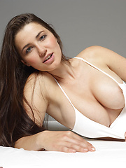 She is sexy, she is hot and she has big horny tits! What do you want more?? - Erotic and nude pussy pics at GirlSoftcore.com