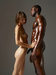 Oiled black guy - Erotic and nude pussy pics at GirlSoftcore.com