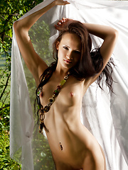 Super hot brunette play a game of passion in the untouched wilderness. She enjoys the touch of nature. Her body seeks for fun. - Erotic and nude pussy pics at GirlSoftcore.com