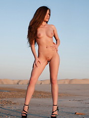 Posing as a nude model give opportunity to show the world what nature has done magnificently. Fresh female body in wild. - Erotic and nude pussy pics at GirlSoftcore.com