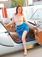 Meghan drives a space ship - Erotic and nude pussy pics at GirlSoftcore.com