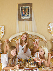 The ultimate dream for every real man is to dive between three blonde lesbo babes for at least few minutes. Astonishing beauty. - Erotic and nude pussy pics at GirlSoftcore.com