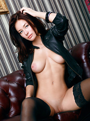 Lusty Mila M. is absolutely irresistible as she shows off her stunning body with all of her arousing poses. - Erotic and nude pussy pics at GirlSoftcore.com