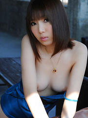 Kurara Horie Asian shows such appetizing butt and lustful assets - Erotic and nude pussy pics at GirlSoftcore.com